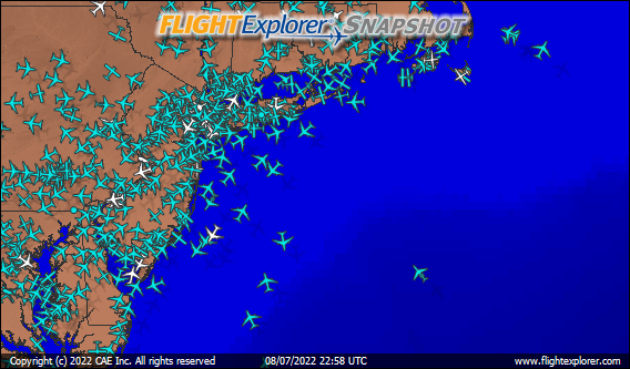 New York Arriving and Departing Flights