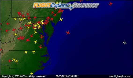 Washington DC Arriving and Departing Flights